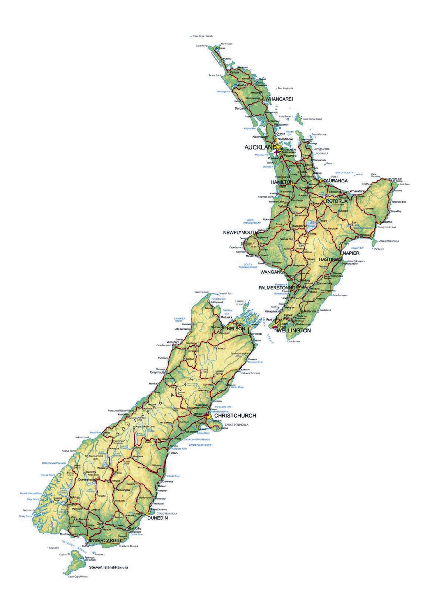 New Zealand North Or South Island To Live