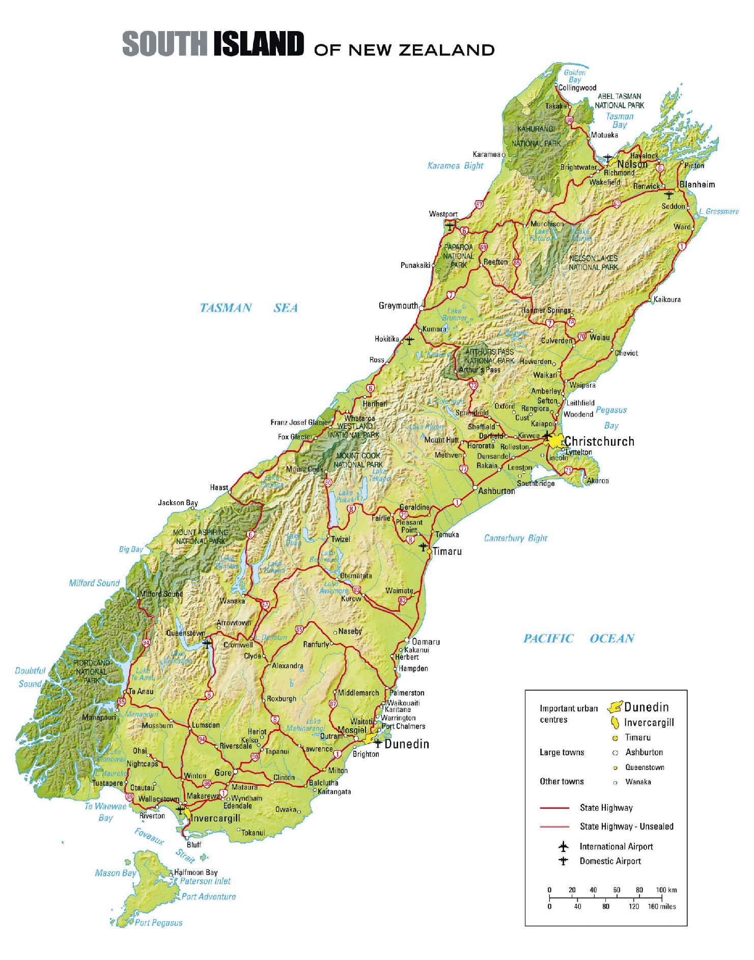 New Zealand Trip – New Zealand Travel Map